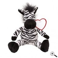 "Peluche zebra ""Lorenzo"""