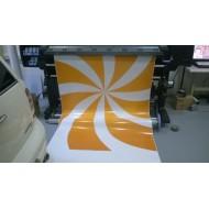 Vinyle blanc 100  microns - Laize 1.25ml
