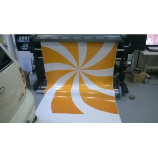 Vinyle blanc 100u laize 1m