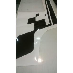Découpe de vinyle Opaque  couleurs au choix