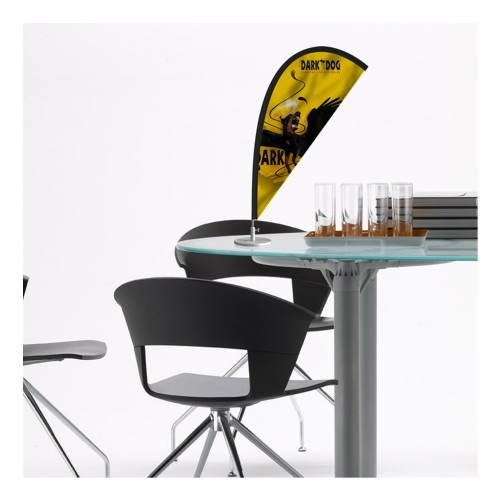 drapeau de table publicitaire sur besan on drapeau. Black Bedroom Furniture Sets. Home Design Ideas
