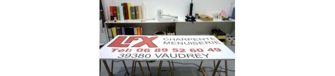 Panneaux rigides Forex ou Dibond